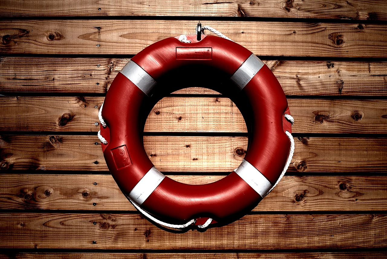 Water Help Lifesaver Rescue Life Buoy Ring Safety