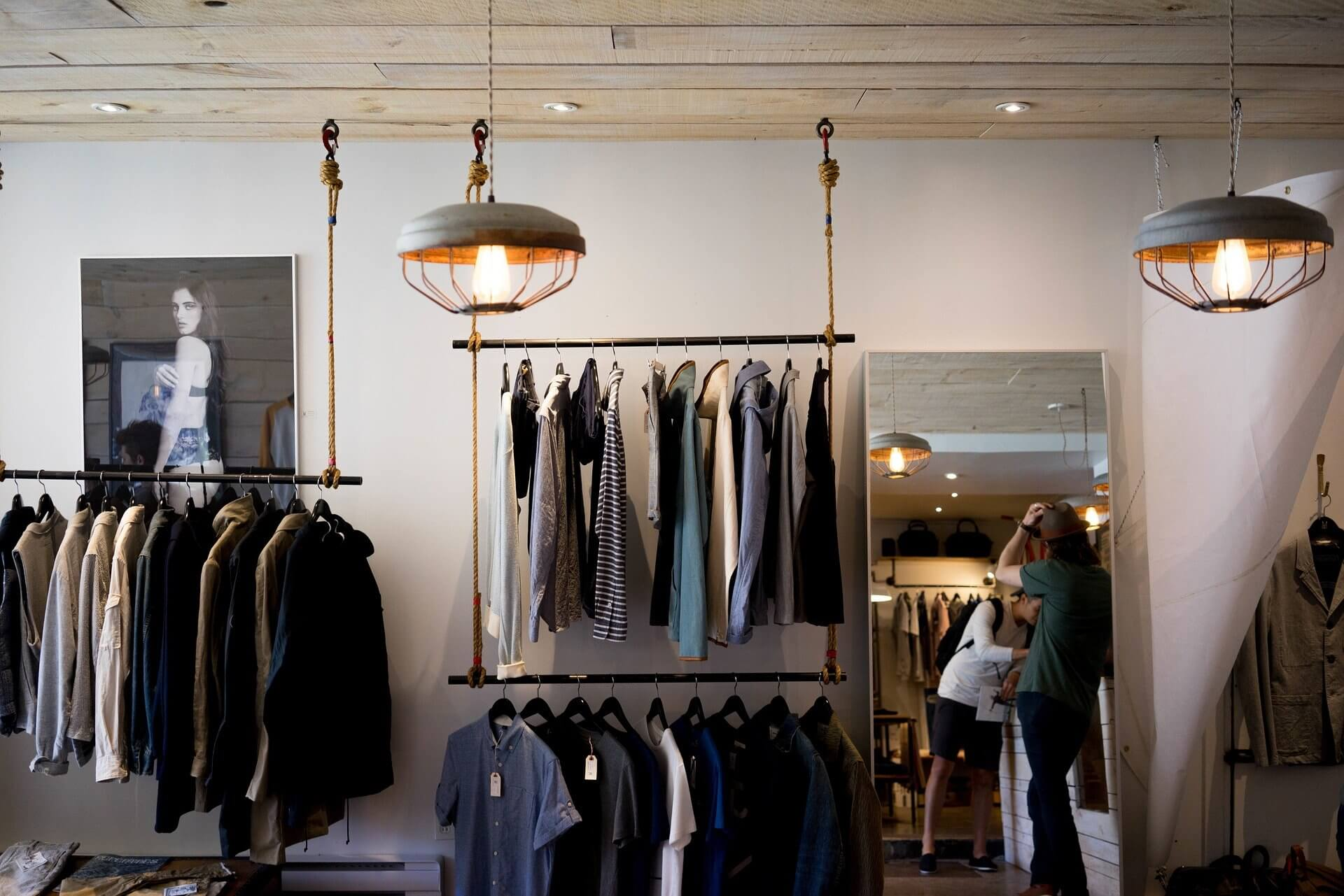 Jeff Jinks Law - Indianapolis Real Estate Attorney - Picture of Inside a Clothing Store